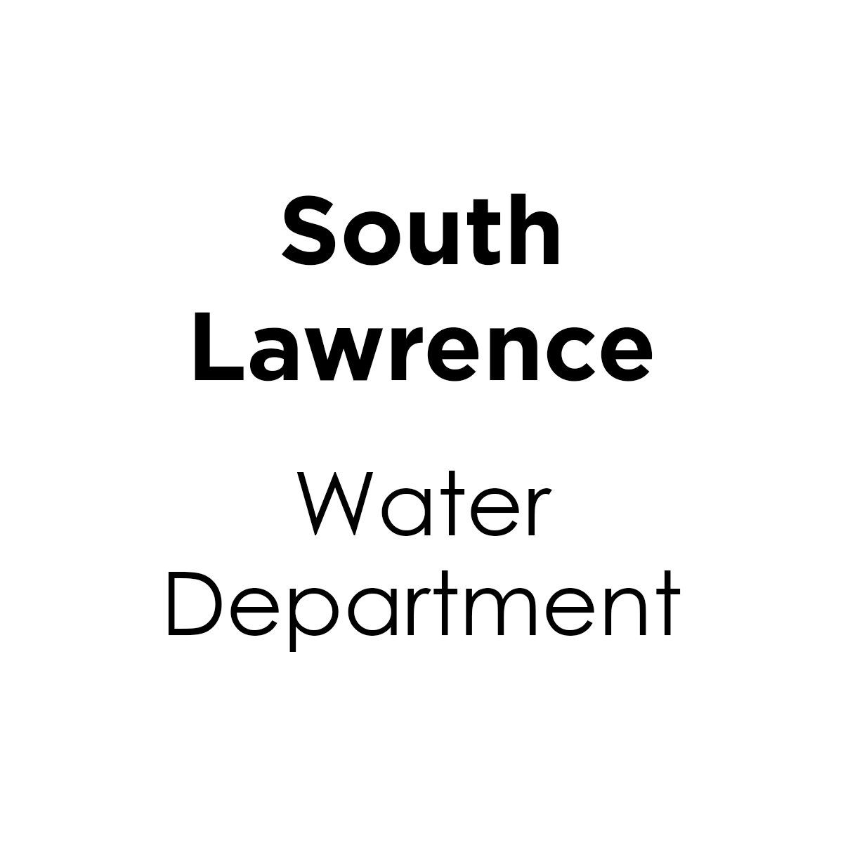 South Lawrence Water Department