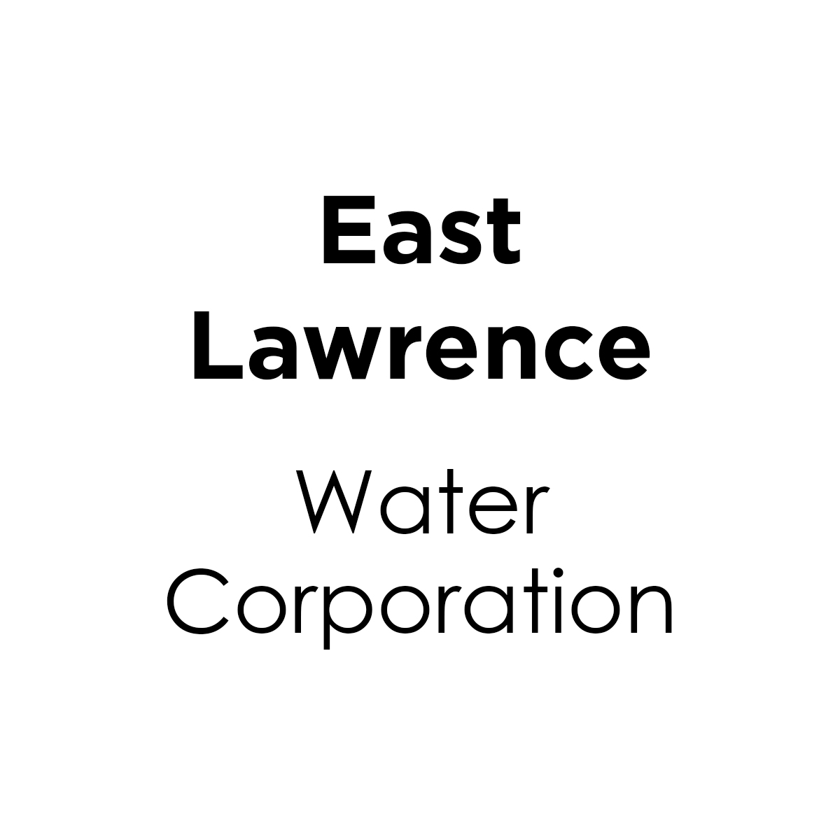 East Lawrence Water Corporation